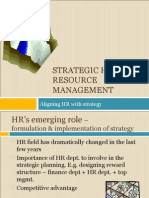 SHRM - Aligning HR With Strategy