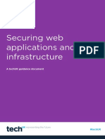 Securing Web Applications and Infrastructure FINAL