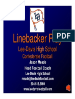 Lee-Davis HS - Linebacker Play