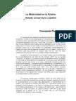 La Maternidad en Prisión. Yagüe, C. REP, 2005