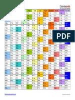 2015 Calendar Landscape in Color