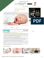 7 Tips Para Calmar El Llanto Del Bebé