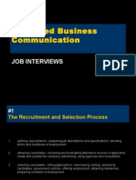 Unit 5 - Job Interviews