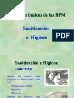 Sanitización e Higiene