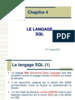 Chapitre SQL