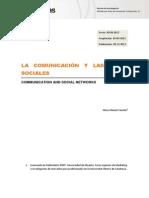 Comunicacion y Redes Sociales