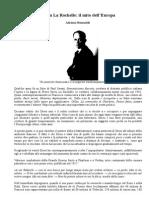 Adriano Romualdi - Drieu La Rochelle. Il Mito Dell'Europa