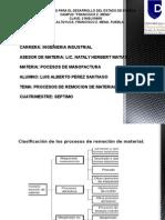 Exposicion de Procesos de Manofactura