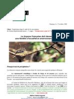 2008 10 Contribution dans le cadre de la concertation du schéma départemental minier