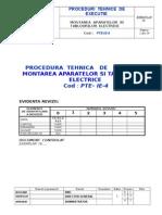 Pte- Instalatii El - Mont Tablouri El-ie-4