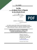 McDonnell Amicus Brief by Harvard Scholars Charles Ogletree Jr. and fmr. Federal Judge Nancy Gertner mici Brief