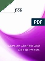 Microsoft OneNote 2010 Product Guide