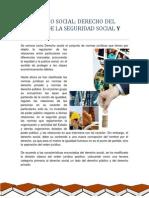 Derecho Social Derecho Del Trabajo, De La Seguridad y Agrario
