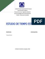 Lab de Metodostiempo Estndar