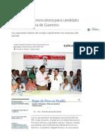 Emite el PRI Convocatoria para candidato a la gubernatura de Guerrero
