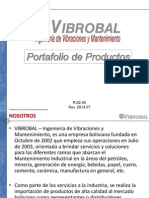 Portafolio de Productos VIBROBAL