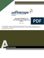 Sofinscope - Les Français et leur budget santé