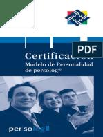 Certificacion de Persolog