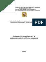 Instrumentos Normativos Mayo 2014
