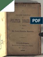 Soluções Positivas Da Politica Brazileira (1880)