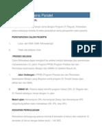 Informasi Program Sarjana Paralel-Internasional Psikologi UI