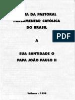 Visita Da Pastoral Parlamentar Católica Ao Papa João Paulo II