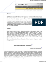 METODOLOGÍA COMPARADA REVISTA DE CIENCIA POLÍTICA