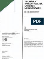 Technika wykonywania ćwiczeń leczniczych - A. Rosławski, T. Skolimowski