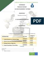 Dispositivo de Redes Configuración IP de Camaras