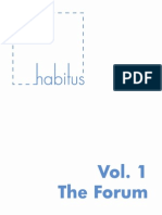 HABITUS Vol 1 TheForum-libre