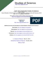 Social Studies of Science 2013 Latour 287 301