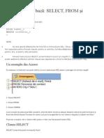 Clauze SQL de Bază