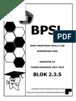 BPSL Konservasi Blok v 2014