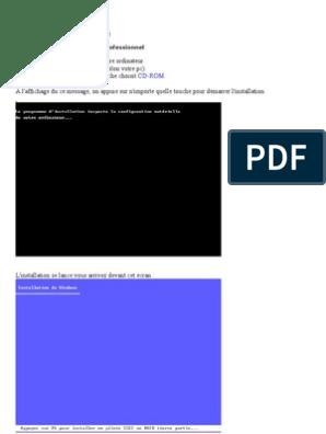 top fashion famous brand great quality étape d'installation windows xp et astuce | Windows XP ...