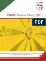 Crisil Rating Default Study 2011