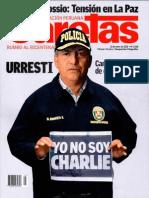 """""""Preocupante Inequidad"""", columna de Pablo Rojas, presidente de COMISEDH, en Caretas 2368"""