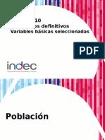 Presentacion Censo2010 04-10-2011