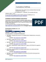 NetWorker 8.1 Cumulative Hotfixes