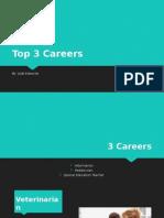 top 3 careers q3