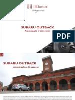 Subaru Outback, ammiraglia e crossover