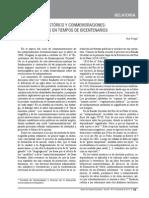 FREGA, Ana, Conocimiento Histório y Conmemoraciones...