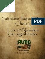 El Calendario Maya Cholq'Ij y Los 20 Nawales