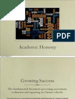 academic honesty review