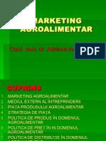 Marketing Agroalimentar