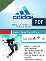 Benchmarking de ADIDAS