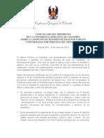 Comunicado Del Presidente Cec Adocpion Niños