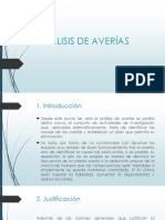 ANALISIS DE AVERIASS