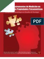 Diseño de Instrumentos de Medición y Sus Propiedades Psicométricas