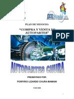 Porfirio Lizardo Chura - Autopartes