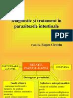 Diagnostic Si Tratament in Parazitozele Intestinale